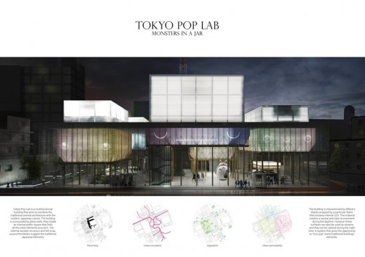 Tokyo Pop Lab competition Second place winners