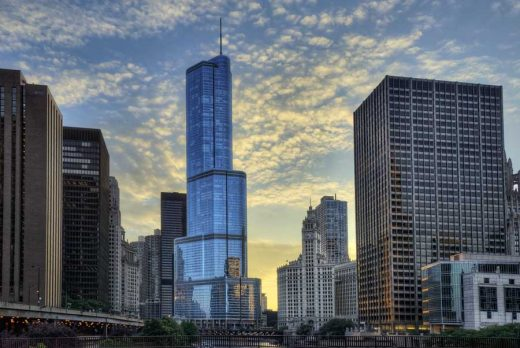 Trump Tower Chicago Building