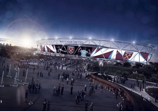 West Ham United Stadium Wrap