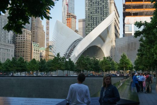 World Trade Center Transportation Hub building by Santiago Calatrava