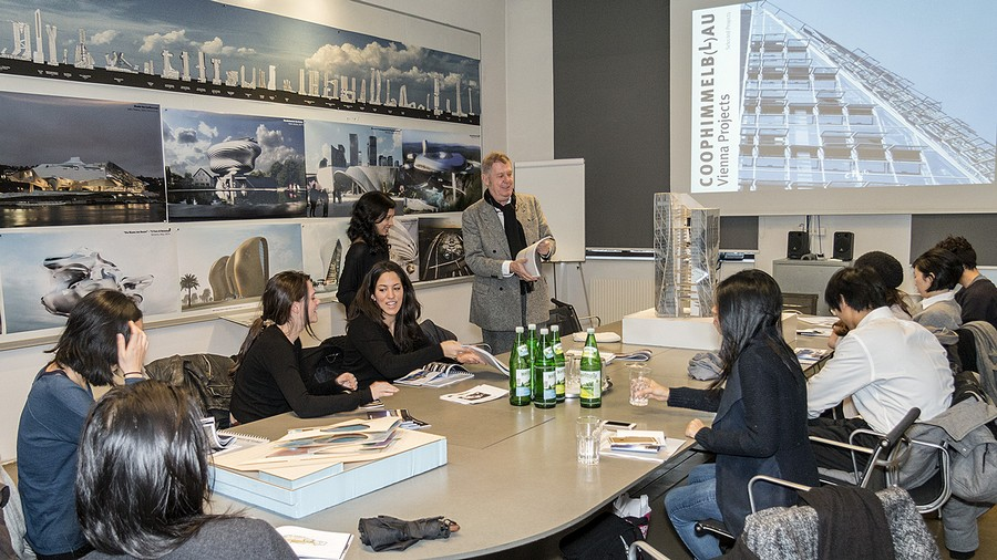 Yale school of architecture visit wolf d prix at the coop for Yale school of architecture