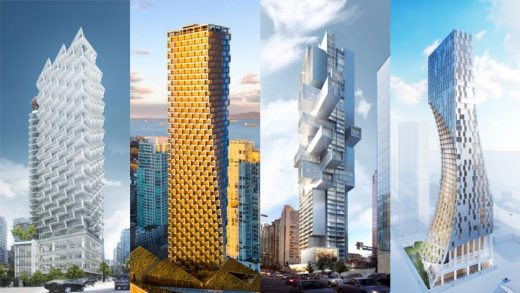 New Towers in Vancouver