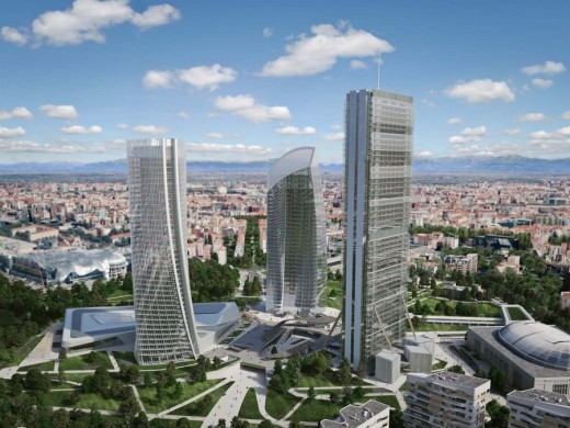 CityLife Milano Tower by Zaha Hadid