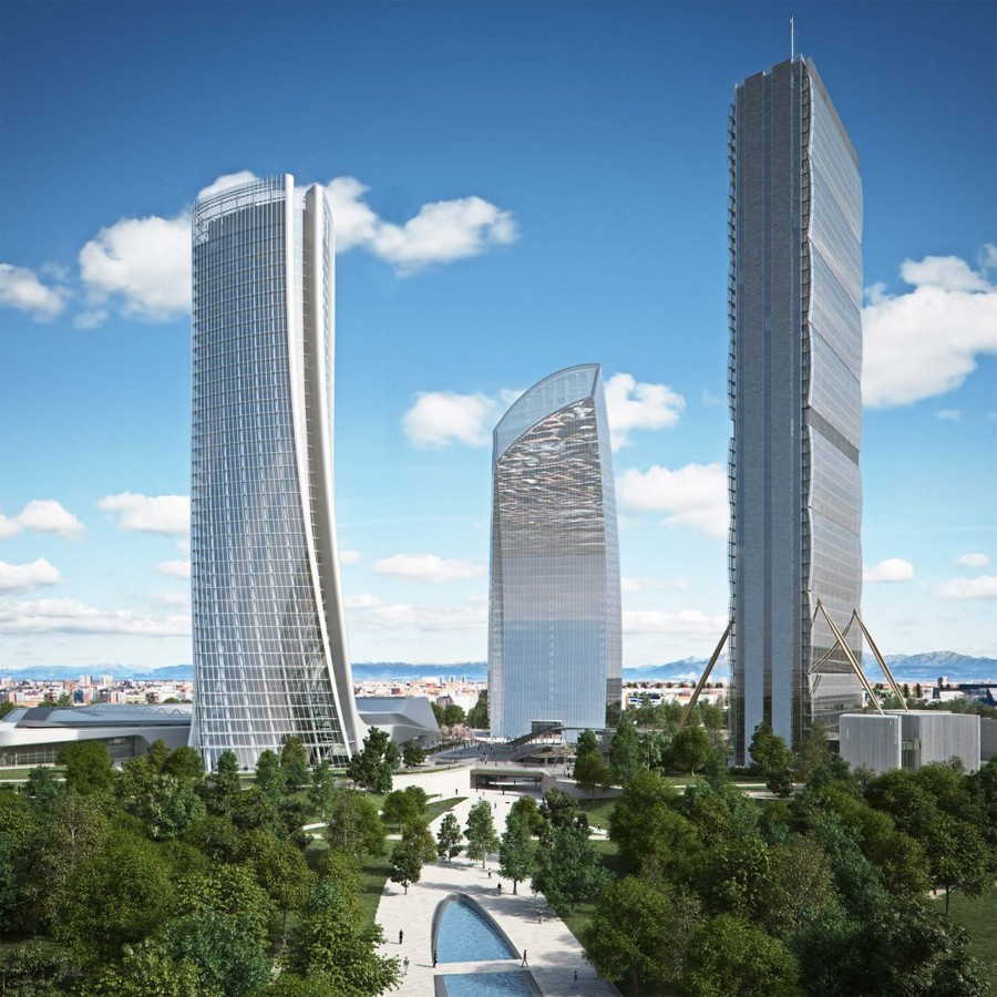 Citylife milano residential complex by zaha hadid e for Design city milano