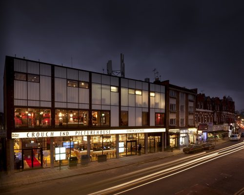 Crouch End Picturehouse Cinema design by Panter Hudspith Architects London