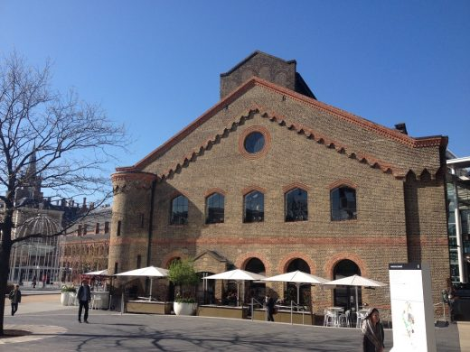 The German Gymnasium building King's Cross