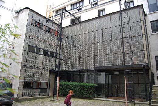 Maison de Verre by Pierre Chareau, Architect