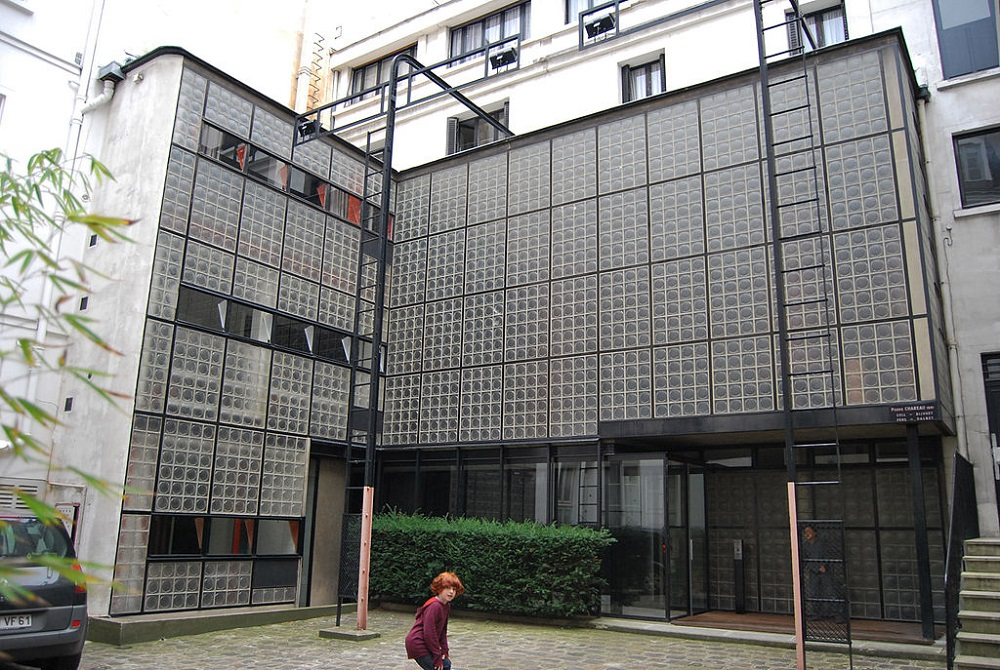 Maison de verre by pierre chareau architect