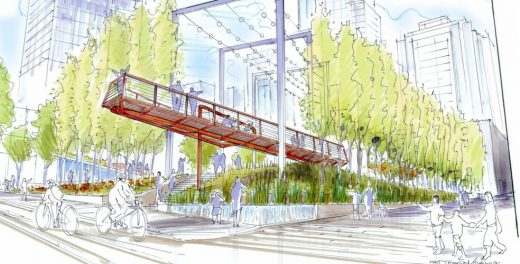 New Downtown Park in Vancouver by DIALOG