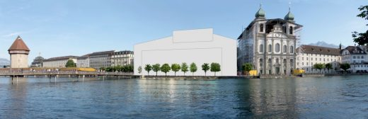 New Lucerne Theater Building