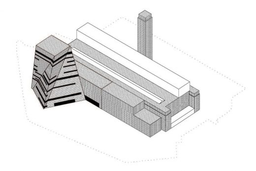 New Tate Modern building 3d view