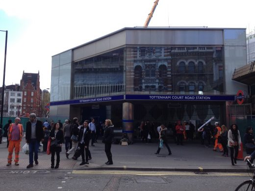 New Tottenham Court Road Station