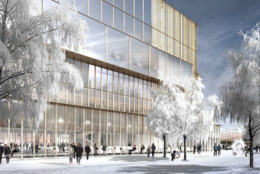 Nobel Center in Stockholm by Chipperfield