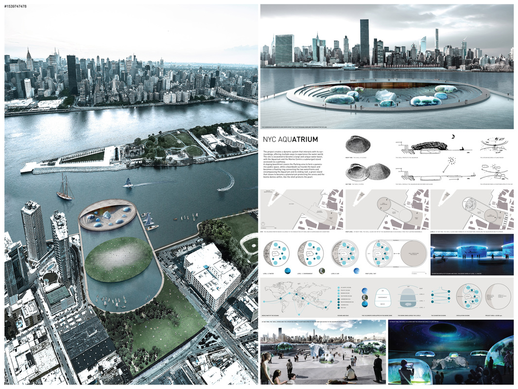 nyc aquarium public waterfront competition e architect