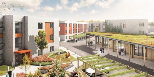Oak Park Health and Wellbeing Campus Housing in Havant