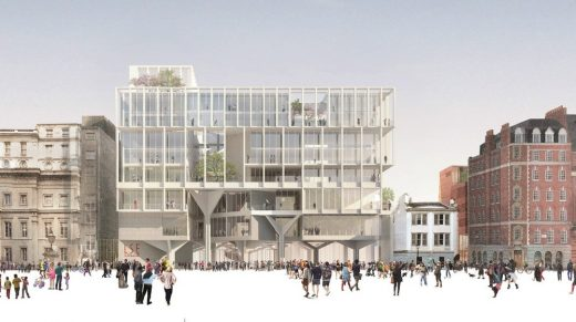 Paul Marshall Building Competition Design by Grafton Architects