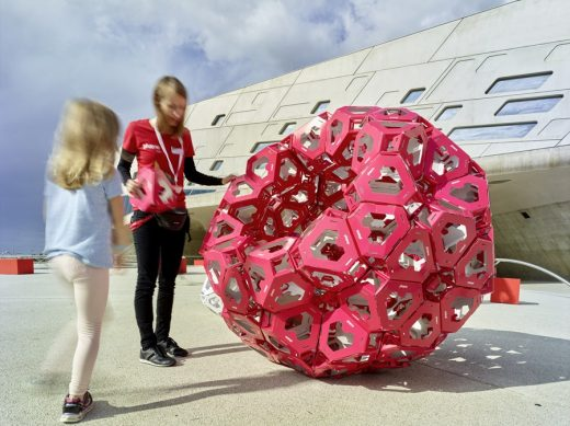 Phaeno Science Centre pop-up structure