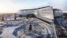 Sberbank Technopark Competition Moscow design by Zaha Hadid Architects