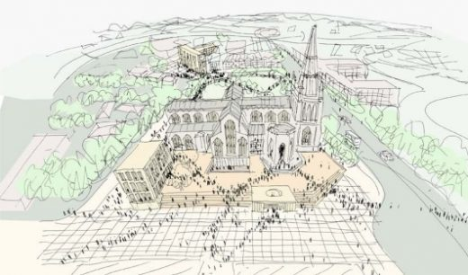 St Mary Redcliffe Competition design by Carmody Groarke