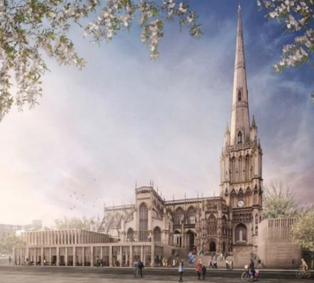 St Mary Redcliffe Competition design by Feilden Clegg Bradley Studios
