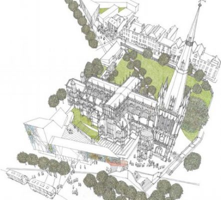St Mary Redcliffe Competition design by Purcell UK