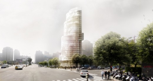 Taichung Tower building by EMBT