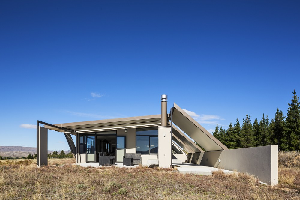 Alexandra tent house in new zealand e architect Tent a house