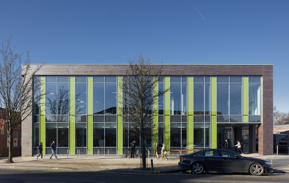 Arcadia Library And Leisure Centre In Levenshulme E