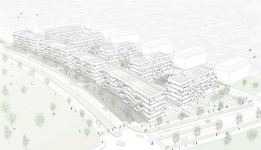 AZPML architects Luxembourg Housing Contest design