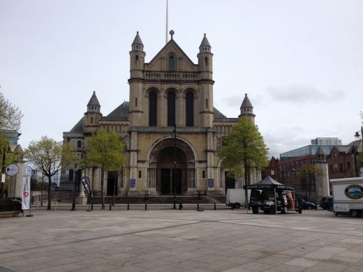 Belfast Cathedral building