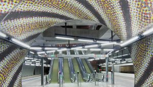 Budapest M4 Metro Stations