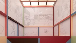 Chapel for Scenes of Public Life at Chicago Architecture Biennial design by baukuh architects