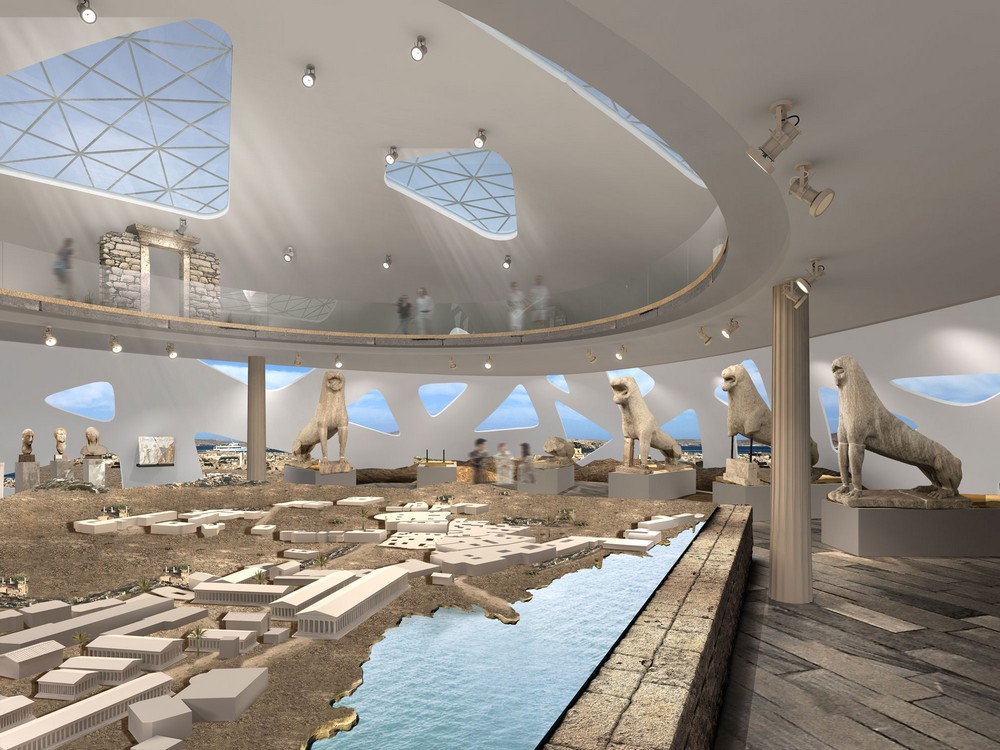 Design By: Delos Museum In Greece