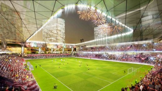 Detroit MLS Stadium & District Interior Bowl