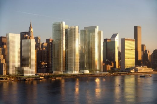 East River Master Plan by Richard Meier architect