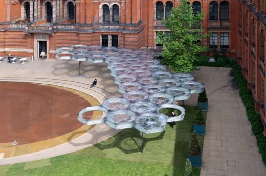 Elytra Filament Pavilion at the V&A