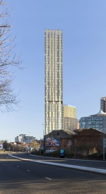 Exchange Court Tallest residential building in Salford