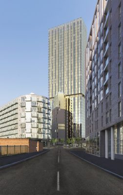 Exchange Court Tallest residential tower in Salford
