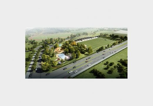 Forest Green Rovers Eco-park Design Competition by DP Architects