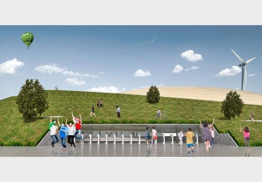 Forest Green Rovers Eco-park Design Competition by George King Architects
