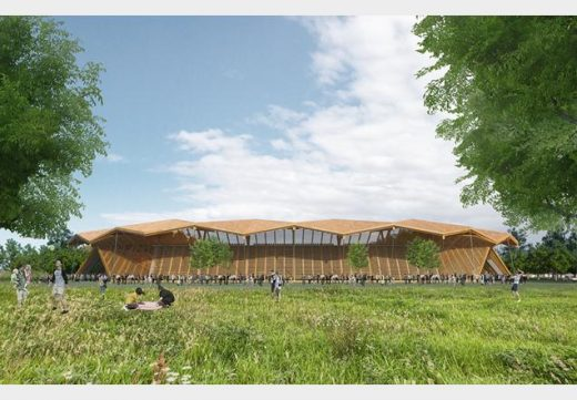 Forest Green Rovers Eco-park Design Competition by Gianni Botsford