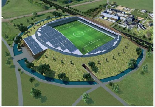 Forest Green Rovers Eco-park Design Competition by Studio M12