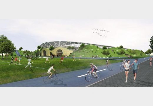 Forest Green Rovers Eco-park Design Competition by ZEDfactory