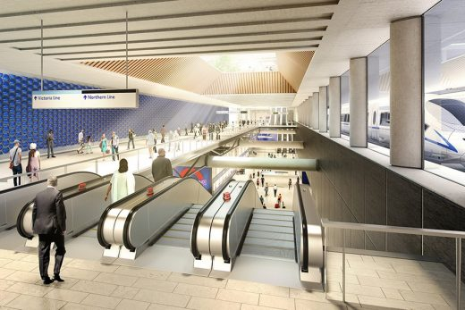 HS2 Euston Station London Terminus