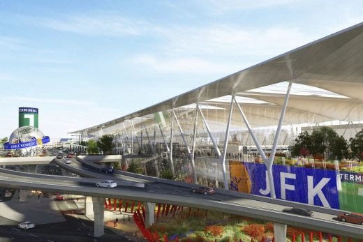 JFK Airport Terminal renewal design