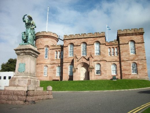 Inverness Castle building