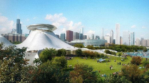 Lucas Museum of Narrative Art building Chicago