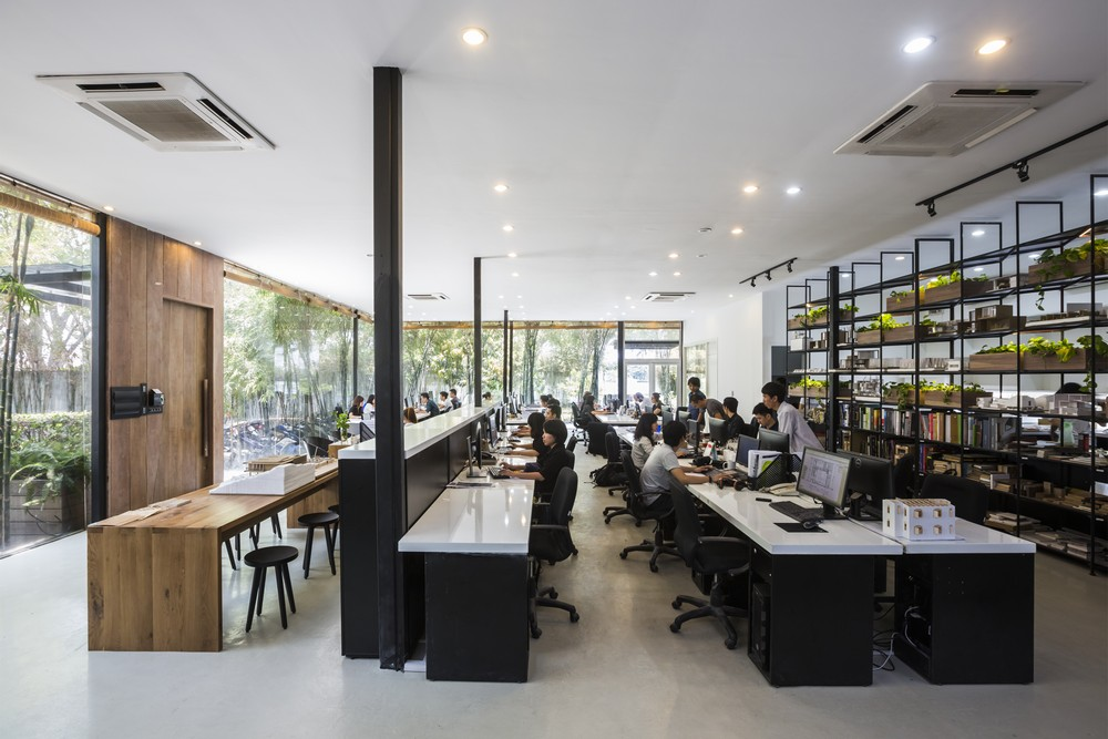 Mia Design Studio Office In Ho Chi Minh City E Architect