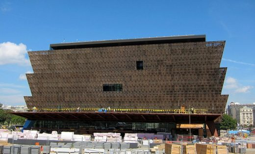 National Museum of African American History & Culture construction