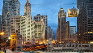 New Aerial Cable Car in Chicago
